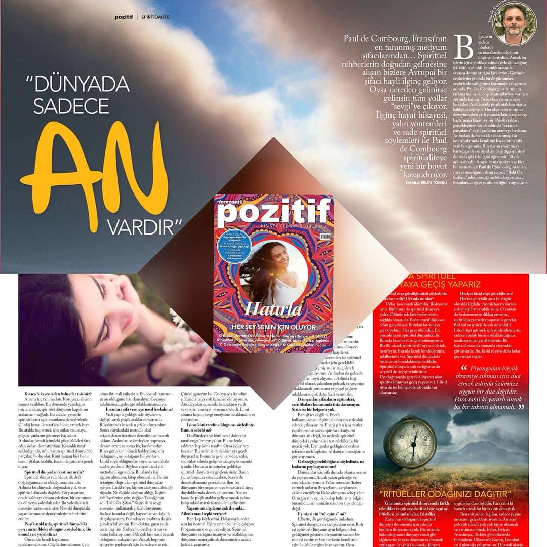 POZITIF - Août 2018 - Article Paul de Combourg